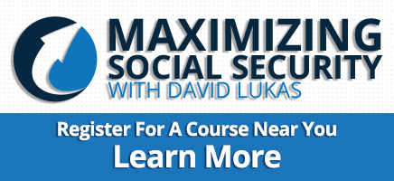 Register here for the Maximizing Social Security Course with David Lukas